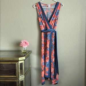 EUC WRAP DRESS